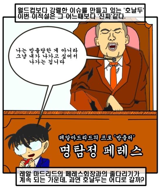 [훈의축구웹툰] 제12화 월드컵 16강전 리뷰와 호날두 이적설